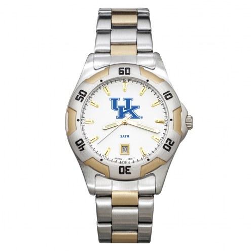 Kentucky Wildcats Men's All-Pro Two-Tone Watch