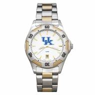 Kentucky Wildcats Men's All-Pro Two-Tone Watch