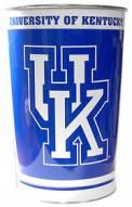 Kentucky Wildcats Metal Wastebasket