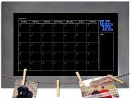 Kentucky Wildcats Monthly Chalkboard with Frame