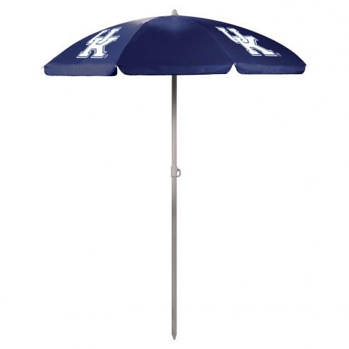 Kentucky Wildcats Navy Beach Umbrella