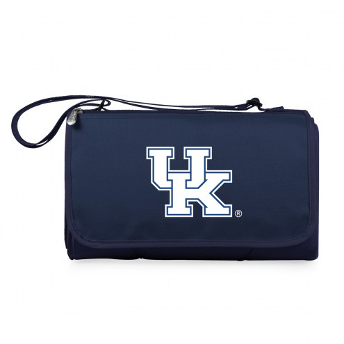 Kentucky Wildcats Navy Blanket Tote