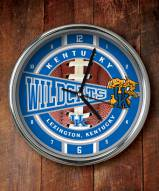Kentucky Wildcats NCAA Chrome Wall Clock
