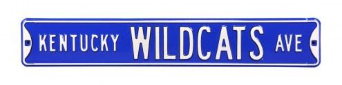 Kentucky Wildcats NCAA Embossed Street Sign
