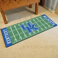 Kentucky Wildcats Football Field Runner Rug