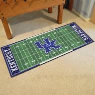 Kentucky Wildcats Football Field Runner Rug