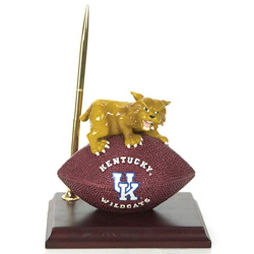Kentucky Wildcats NCAA Mascot Football Desk Set