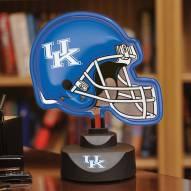 Kentucky Wildcats Neon Helmet Desk Lamp