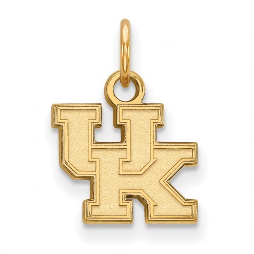 Kentucky Wildcats NCAA Sterling Silver Gold Plated Extra Small Pendant