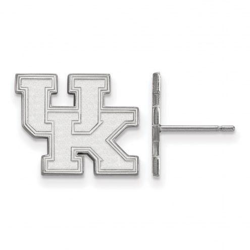 Kentucky Wildcats Sterling Silver Small Post Earrings