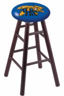 Kentucky Wildcats Oak Wood Bar Stool