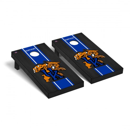 Kentucky Wildcats Onyx Stained II Cornhole Game Set