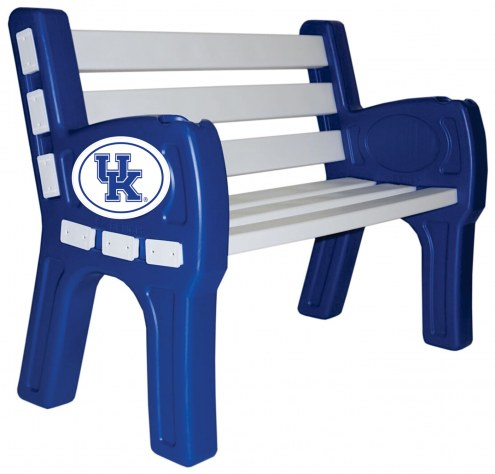 Kentucky Wildcats Park Bench