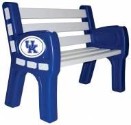 Kentucky Wildcats Park Bench