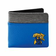Kentucky Wildcats Pebble Bi-Fold Wallet