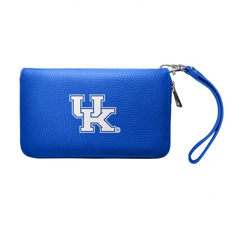 Kentucky Wildcats Pebble Organizer Wallet