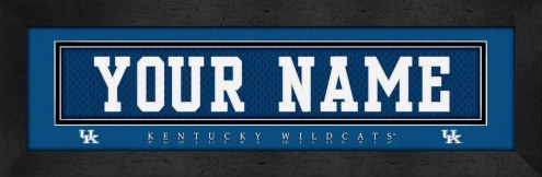 Kentucky Wildcats Personalized Stitched Jersey Print