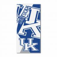 Kentucky Wildcats Puzzle Beach Towel