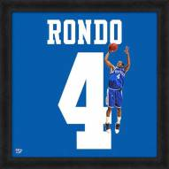 Kentucky Wildcats Rajon Rondo Uniframe Framed Jersey Photo