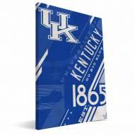 Kentucky Wildcats Retro Canvas Print