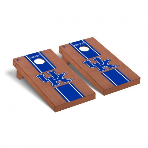 Kentucky Wildcats Rosewood Stained Cornhole Game Set