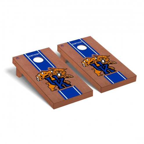 Kentucky Wildcats Rosewood Stained II Cornhole Game Set