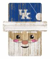 Kentucky Wildcats Santa Ornament