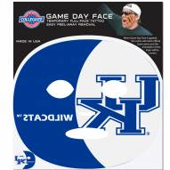 Kentucky Wildcats Set of 4 Game Day Faces