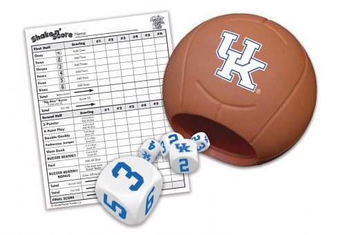 Kentucky Wildcats Shake N' Score Travel Dice Game