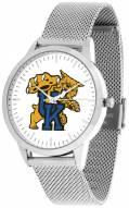 Kentucky Wildcats Silver Mesh Statement Watch