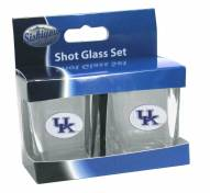 Kentucky Wildcats Shot Glass Set