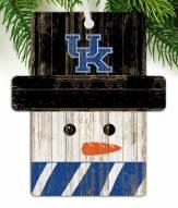 Kentucky Wildcats Snowman Ornament