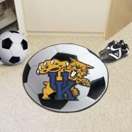 Kentucky Wildcats Soccer Ball Mat