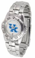Kentucky Wildcats Sport Steel Women's Watch
