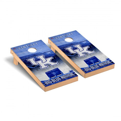 Kentucky Wildcats Stadium Cornhole Game Set