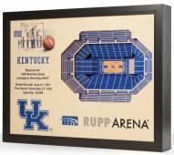 Kentucky Wildcats 25-Layer StadiumViews 3D Wall Art