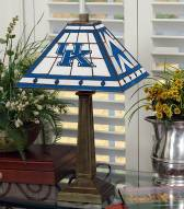 Kentucky Wildcats Stained Glass Mission Table Lamp