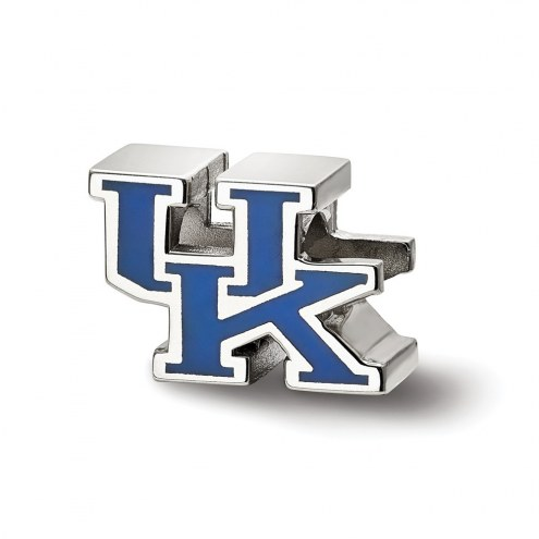 Kentucky Wildcats Sterling Silver Enameled Bead