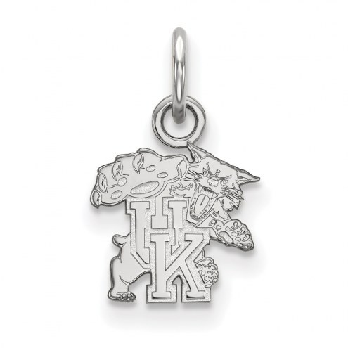 Kentucky Wildcats Sterling Silver Extra Small Pendant