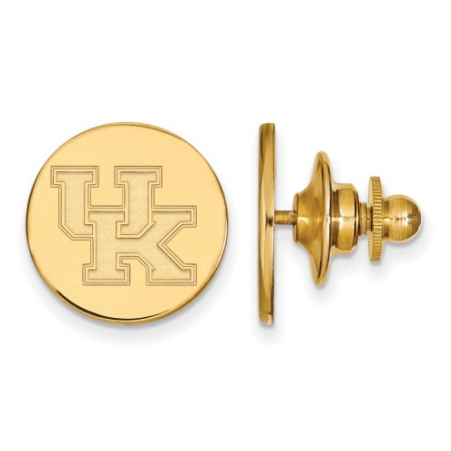 Kentucky Wildcats Sterling Silver Gold Plated Lapel Pin