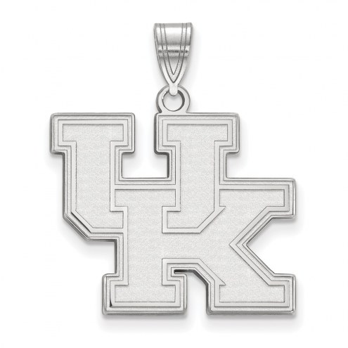 Kentucky Wildcats Sterling Silver Large Pendant