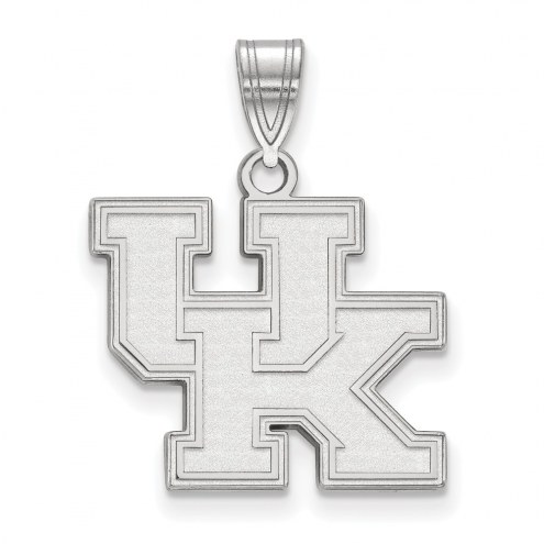 Kentucky Wildcats Sterling Silver Medium Pendant