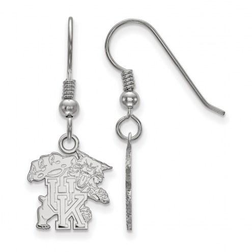 Kentucky Wildcats Sterling Silver Small Dangle Earrings
