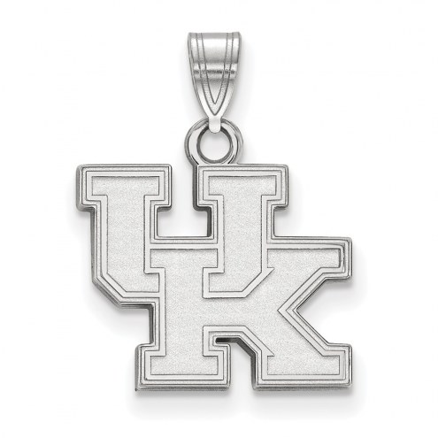 Kentucky Wildcats Sterling Silver Small Pendant
