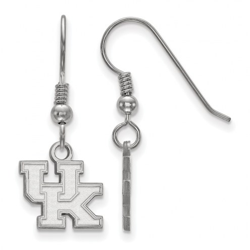 Kentucky Wildcats Sterling Silver Extra Small Dangle Earrings