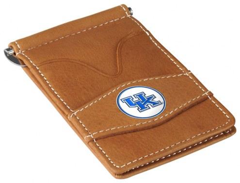 Kentucky Wildcats Tan Player's Wallet