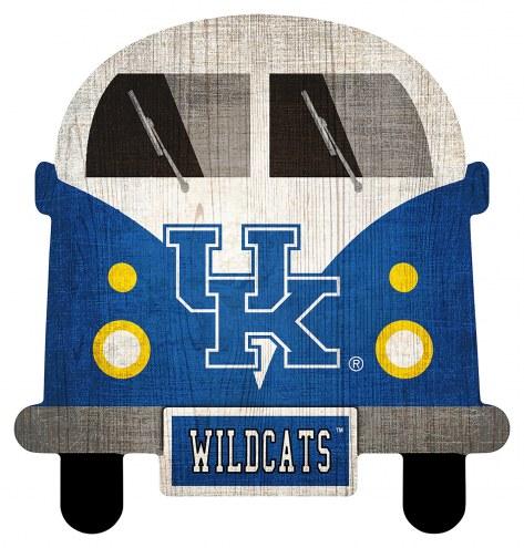 Kentucky Wildcats Team Bus Sign