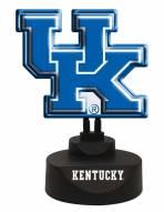 Kentucky Wildcats Team Logo Neon Light