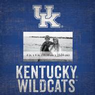 "Kentucky Wildcats Team Name 10"" x 10"" Picture Frame"