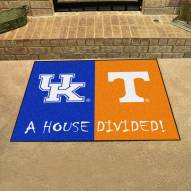 Kentucky Wildcats/Tennessee Volunteers House Divided Mat